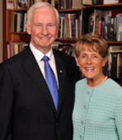 Their Excellencies the Right Honorable David Johnston, Governor General of Canada, and Mrs. Sharon Johnson